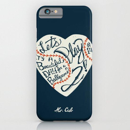 Mr. Cub iPhone & iPod Case
