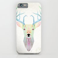 white deer iPhone 6 Slim Case