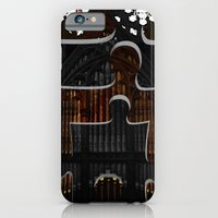 iPhone & iPod Case featuring Distracting a Ghost: 1st Rendition  by notchildfriendly