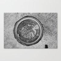 New Orleans Water Meter Canvas Print