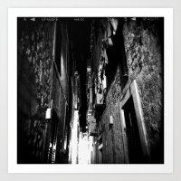 Midnight in Dubrovnik 01 Art Print