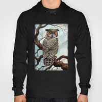 Great Horned Owl Hoody
