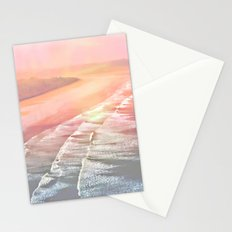 Pink Ocean Stationery Cards