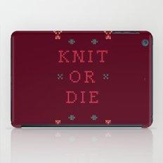 Knit or Die iPad Case