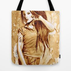 A little Amy in my coffee Tote Bag