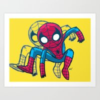 Does Whatever A Spider C… Art Print