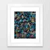 Crystal Points  Framed Art Print