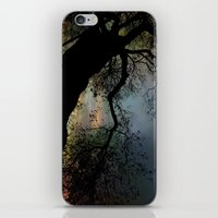 Night Fall by The Tree iPhone & iPod Skin