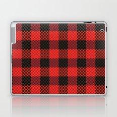 Pixel Plaid - Lumberjack Laptop & iPad Skin