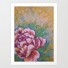 Peonie Study I Art Print