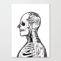 Demon Days ~ A. Canvas Print