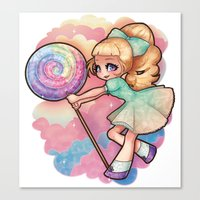 Candy Candy Canvas Print
