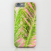 Tropical Palm Pink Green iPhone 6 Slim Case