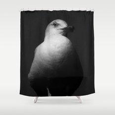 Sur mon piédestal Shower Curtain