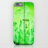 Weathered Iron Door iPhone 6 Slim Case