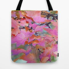 Autumn Rainbow Colors Tote Bag