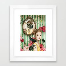 The Portrait of Dorianne Gray Framed Art Print