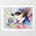 """wilting rose"" Art Print"