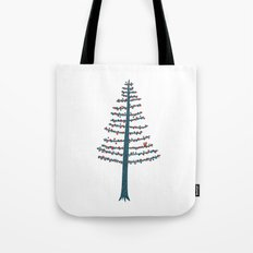 The Squirrel and the Tree Tote Bag