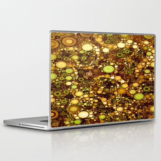 :: Solid Gold :: Laptop & iPad Skin