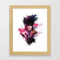 Gambit Framed Art Print