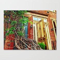 Vines over the Doorway Canvas Print