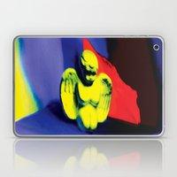Lamentation in Blue, Yellow, and Orange Laptop & iPad Skin