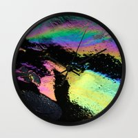 Water and Oil Wall Clock