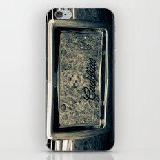 Chrome Caddy iPhone & iPod Skin