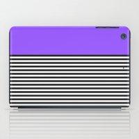 STRIPE COLORBLOCK {PURPLE} iPad Case