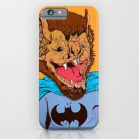 iPhone & iPod Case featuring Bat-mania by Davel F. Hamue