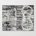 Vulnerability Commerce (P/D3 Glitch Collage Studies) Canvas Print