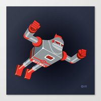Jaianto Punch-Robo Canvas Print