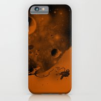 iPhone & iPod Case featuring Lost in Negative Space by micheleficeli
