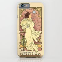iPhone Cases featuring La Dauphine Aux Alderaan by Karen Hallion Illustrations