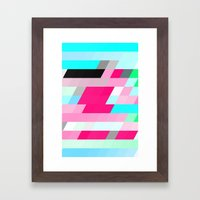 Flag Framed Art Print