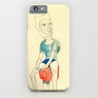 iPhone & iPod Case featuring Finn by withapencilinhand