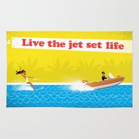 Live The Jet Set Life! Rug