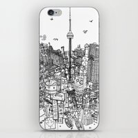 Toronto! (version #2) iPhone & iPod Skin