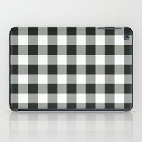 Buffalo Check In Black iPad Case