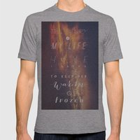 One Direction: Story Of My Life Mens Fitted Tee Athletic Grey SMALL