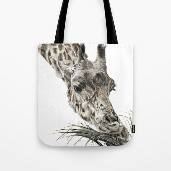 Giraffe - A Long Munch Tote Bag