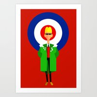 The Mod Art Print