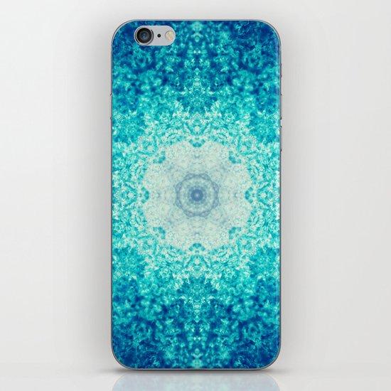 Blue Waves iPhone & iPod Skin