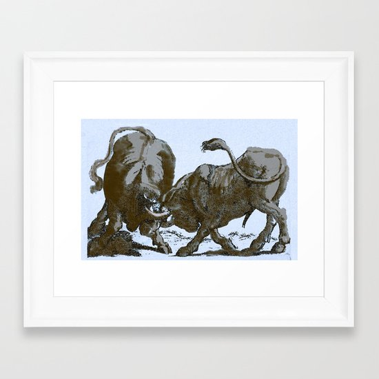 Bullfight Framed Art Print