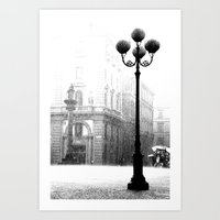 Florence in the Spring Rain Art Print