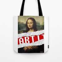 MONA LISA RELOADED Tote Bag