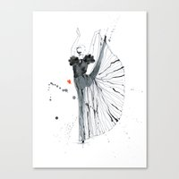 Dancer*** Canvas Print