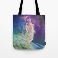 Tote Bag featuring Astronaut Dissolving Thr… by Psychedelic Astronau…