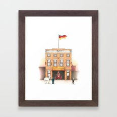 895 Broadway Framed Art Print